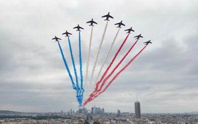 14 juillet 2020 : journée d'hommage sur France 2 clôturée par le Concert de Paris