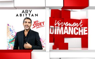 Chroniques et humour Vivement Dimanche du 03/11/2019 Ary Abittan