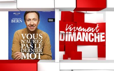 Chroniques Vivement Dimanche du 10/11/2019 Stéphane Bern