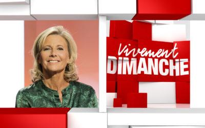 Chroniques Vivement Dimanche du 20/10/2019 Claire Chazal