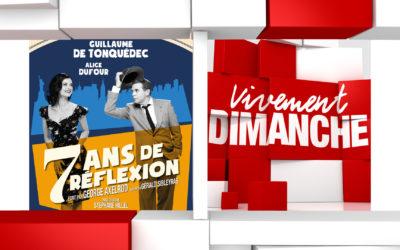 Chroniques Vivement Dimanche du 01/09/2019