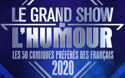 Le Grand Show de l'Humour: les 50 comiques préférés des français 2020
