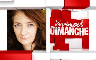 Chroniques  et  humour Vivement Dimanche du 10/05/2020 Rediff. Corinne Masiero