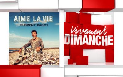 Chroniques et bonne humeur Vivement Dimanche du 01/03/2020 Florent Pagny