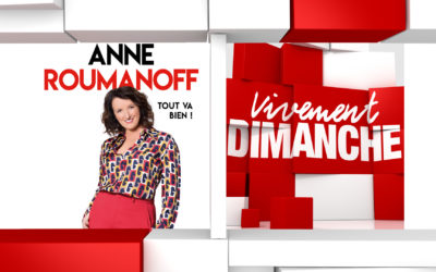 Actus Vivement Dimanche Anne Roumanoff