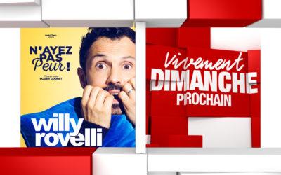 Souvenirs et humour avec Willy Rovelli