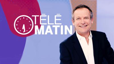 Michel invité de «Télé Matin» FR2