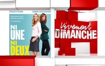 Chroniques  Vivement Dimanche du 03/05/2020 Rediff. Mathilde Seigner